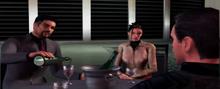 Drake confrontant Bond