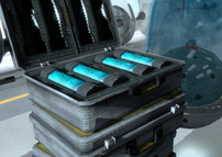 Orchid nerve gas phials in 007 Legends (2012)