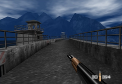 KF7 soviet at the dam (GoldenEye 007)
