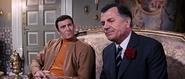 James Bond et le père de Tracy