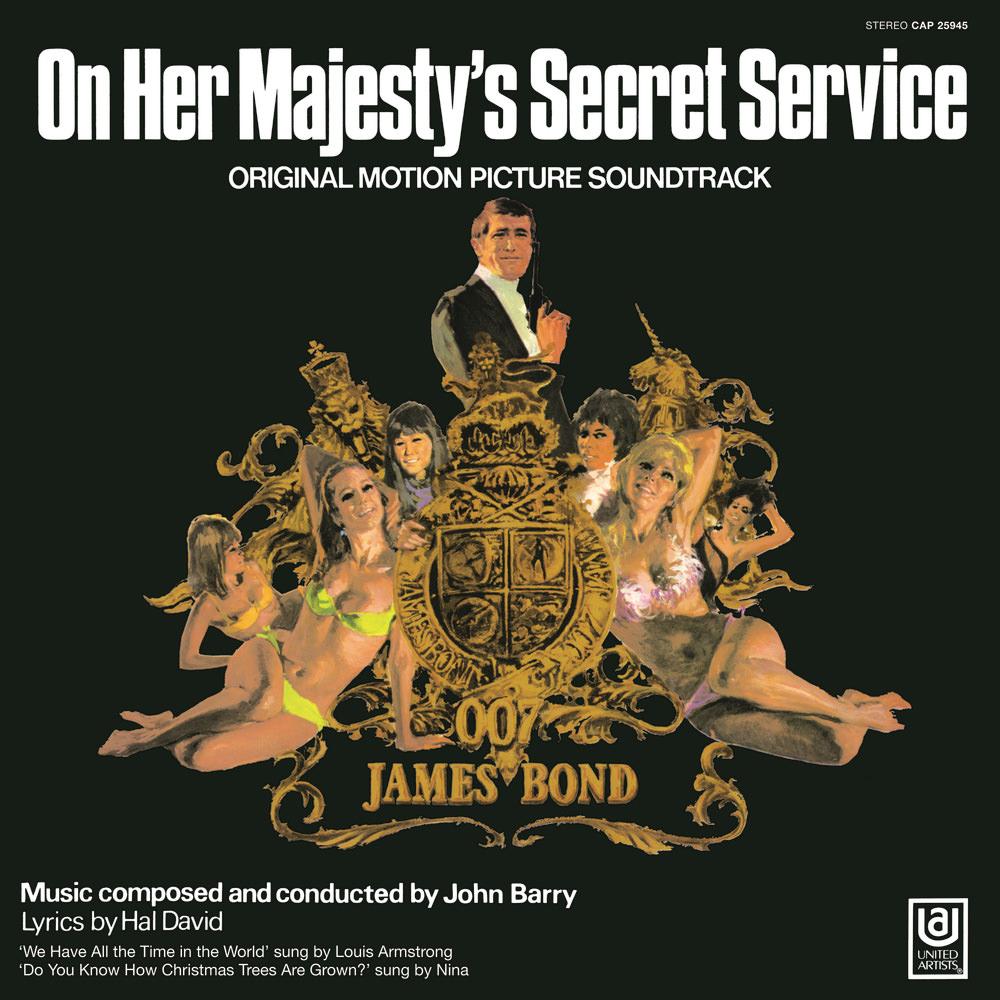 On Her Majesty\'s Secret Service (soundtrack) | James Bond Wiki ...