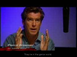 Pierce brosnan interview EON