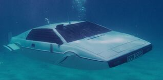 Lotus esprit S1 submarine