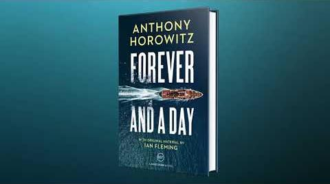 Forever and a Day by Anthony Horowitz Cover reveal