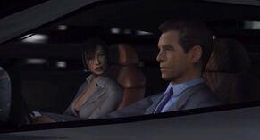 NightFire - Bond and Kiko driving through Tokyo