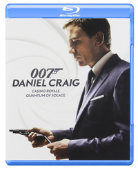 Daniel Craig Bond blu-ray duo