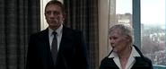 M, Bond et la trahison de Mitchell
