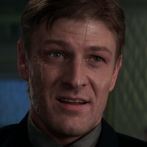 Sean Bean in James Bond