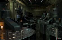 Generator Room (Rogue Agent) by Christian Lorenz Scheurer