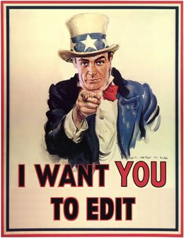 I want you - to edit