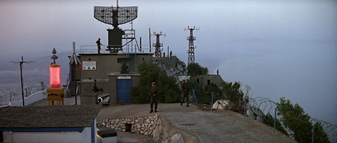 Gibraltar radar installation (The Living Daylights)