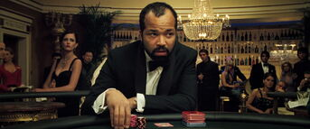 Leiter at the poker table (Casino Royale)