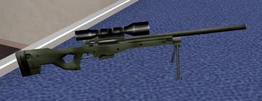 Winter Covert Sniper Rifle (Nightfire, PC)