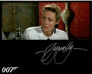 VIRGINIA-HEY-hand-signed-THE-LIVING-DAYLIGHTS-8x10-w