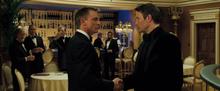 Le Chiffre rencontrant Bond