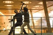 Quantum of Solace - Dominic Greene and Bond fighting