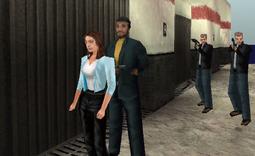 Gabor ambush cutscene (TWiNE, PS1)