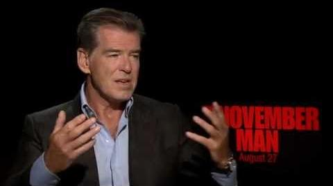 Pierce Brosnan on how the Daniel Craig 'Bond' films influenced 'The November Man'