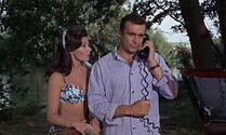 From Russia with Love - Bond uses the car phone