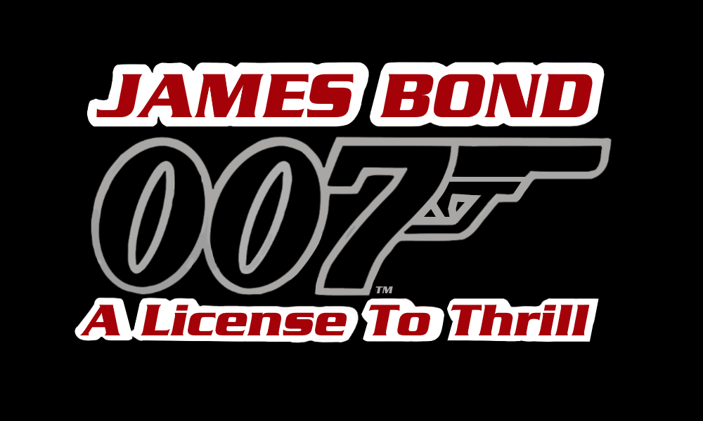 image Licenced to thrill bond theme big tits babe teases