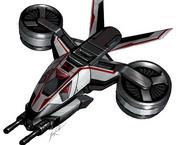 Tiltrotor fighter aircraft (GoldenEye - Rogue Agent) 2