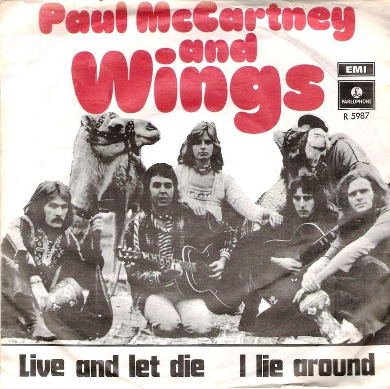 Paul Mccartney And Wings Live Let Die