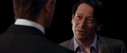 Greene confrontant Bond