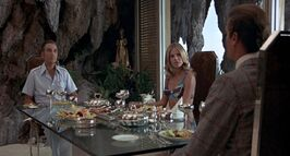 TMWTGG - Bond dines with Scaramanga and Goodnight