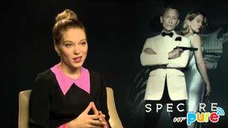 SPECTRE Léa Seydoux INTERVIEW