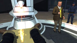 Goldfinger's industrial laser (007 Legends)
