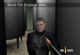 Alec Trevelyan in GoldenEye 007 (1997)