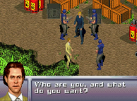 003 is caught and questioned (Everything or Nothing, GBA)