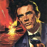 Moonraker comic book cover denmark james bond 007