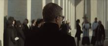 Blofeld aux funérailles de Sciarra