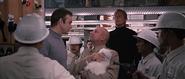 Blofeld face à Bond