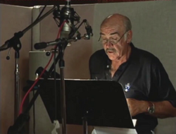 Sean Connery recording his lines, FRWL (2005 game)