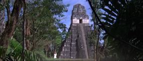 Aztec ruins, exterior (Moonraker)
