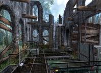White's estate, concept art (Quantum of Solace, game, PC) 2