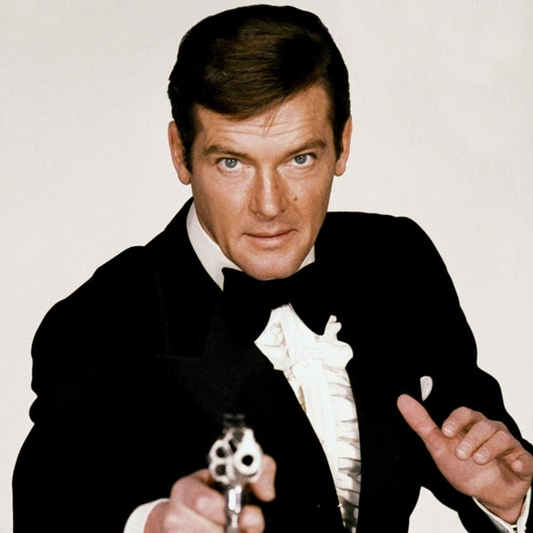 james bond roger moore james bond wiki fandom. Black Bedroom Furniture Sets. Home Design Ideas