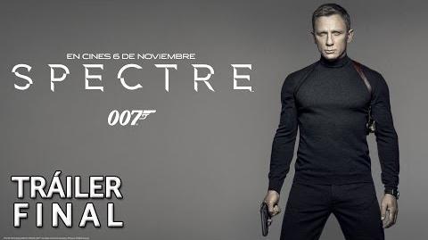 SPECTRE. Tráiler final en español. En cines 6 de noviembre
