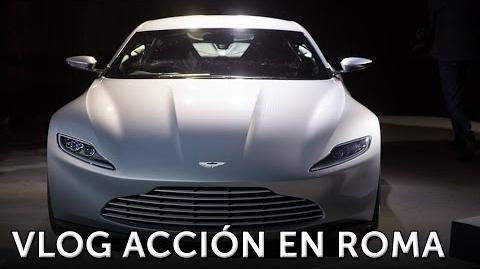 James Bond 007. Los cochazos de SPECTRE en acción. En cines 6 de Noviembre 2015.