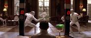 James Bond en duel avec Graves