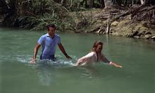 Honey et James dans le marais