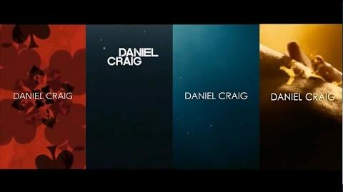 Daniel Craig as James Bond 10th Anniversary Montage