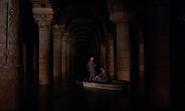 Kerim et Bond dans la barque