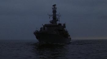 Exterior, as seen in ''Tomorrow Never Dies''.