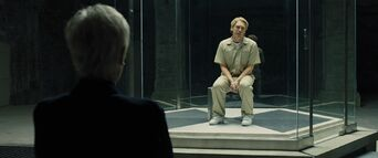 Skyfall - M confronts Raoul Silva