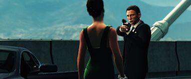 Blood Stone - Bond confronts Nicole