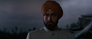 Gobinda lors de l'exécution de Vijay