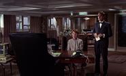 Kronsteen, Klebb et Blofeld durant la réunion